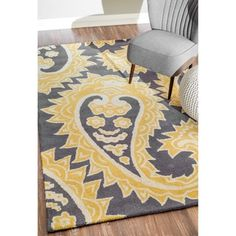 nuLOOM Handmade Flatweave Paisley Wool Rug (5' x 8') - Overstock™ Shopping - Great Deals on Nuloom 5x8 - 6x9 Rugs
