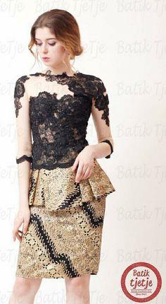 Dress, top, blouse, batik indonesia Kebaya Lace, Batik Kebaya, Kebaya Dress, Dress Pesta, Model Kebaya Modern, Kebaya Modern Dress, Model Dress Batik, Batik Dress, Kimono