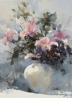 HUANG HSIAO-HUI & CHIEN CHUN-WEI: Watercolor Still Lifes