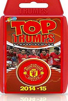 Top Trumps - Manchester United FC 2014/15 Top Trumps - Manchester United FC 2014/15<br/><br/>Calling all Reds fans you will love this pack of Manchester United Top Trumps! Containing a bang up to dat (Barcode EAN = 5036905023795) http://www.comparestoreprices.co.uk/card-games/top-trumps--manchester-united-fc-2014-15.asp