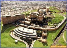 Very beautiful architecture University of Shiraz (Fars province - Iran).