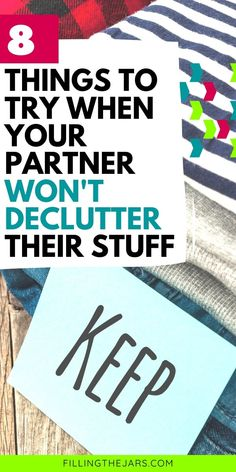 Reduce the stress when dealing with your partner's clutter problem. Decluttering tips for couples, plus a printable room-by-room list of what to declutter first for an easy start. #clutter #organizing #declutteringtips Easy Start, Organizing, Organization, Clutter Free Home, Before And After Pictures, Staying Organized, Decluttering, Design Your Own, Storage Solutions