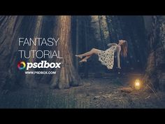 Create a Fantasy Manipulation With Light Effects in Photoshop - YouTube