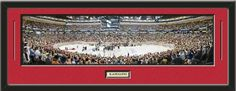 NHL - Chicago Blackhawks - United Center Framed Panoramic With Team Color Double Matting & Name plaque Art and More, Davenport, IA http://www.amazon.com/dp/B00HFR3KLW/ref=cm_sw_r_pi_dp_7C8Eub1390Y9Y