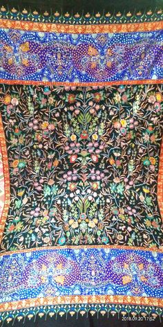 1851db38bed0f 25 Best aari work pashmina shawls images in 2018 | Pashmina shawl ...