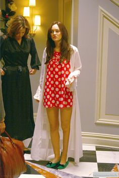 Blair Waldorf... I can't handle how much I want this robe.