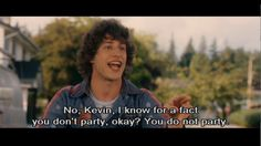 Hot Rod feat Andy Samberg Kevin does not party! Funny Movies, Comedy Movies, Great Movies, Films, Hot Rod Movie, Movie Tv, Andy Samberg, Lol, Moving Pictures