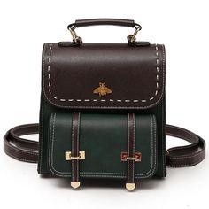 8a064f7bf5 Bumblebee Leather Backpack – Travel Starter Pack Zaini Vintage, Zaini  Carini, Zaini In Pelle