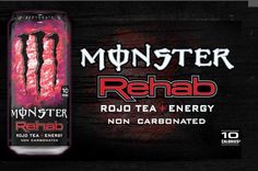 Monster Rehab - Rojo Tea+Energy