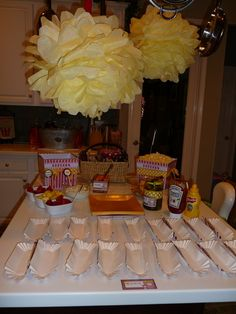"""Photo 1 of 16: Popcorn and movies / Movie Night """"Loren's 7th birthday Movie Party"""" 