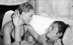 rosemariealbach:  Romy Schneider & Alain Delon in La Piscine, 1969
