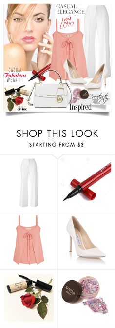 """""""Casual elegance"""" by creativity30 ❤ liked on Polyvore featuring Marni, Jimmy Choo and Michael Kors"""