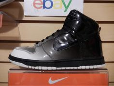 Nike Dunk Hi High Supreme Spark Destroyers Pack Black size 8 USA 349710-101 RARE #Nike #AthleticSneakers