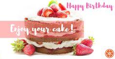 Happy Birthday Enjoy Your Yummy Cake
