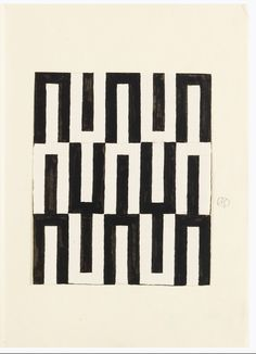 Textile designed by Josef Hoffmann