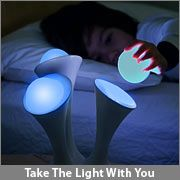 kids glo night light with lights they can take with them when they have to get up at night