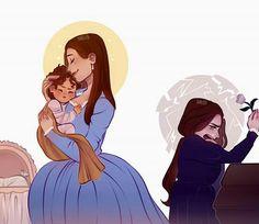 My child don't cry Hamilton Eliza, Hamilton Lin Manuel Miranda, Hamilton Broadway, Hamilton Musical, Theatre Nerds, Musical Theatre, Theater, Angel Of Death, Hamilton Drawings