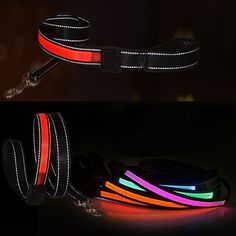 Find More Dog Collars & Leads Information about New Pet Dog LED Leash Rope, Dog Leash 120cm with Solar Energy Recharge Capable,Reflection Pet Dog Nylon Rope,LED Leads Dog Leads,High Quality leash bag,China leash set Suppliers, Cheap leash red from Household Products wholsale and Retail on Aliexpress.com