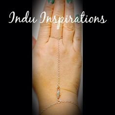 Mini Hamsa sterling silver hand chain hand jewelry  on Etsy, $75.00