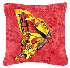 Butterfly Indoor/Outdoor Throw Pillow