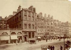 The High Street 1874, Edinburgh    By courtesy of Edinburgh City Libraries