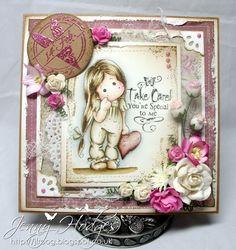 .Jenny's craft corner: Be my Valentine Tilda :)