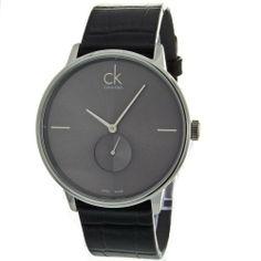 Calvin Klein K2Y211C3 Accent Men's Watch in Black Calvin Klein. $302.50. Save 19% Off!