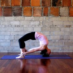 Headstand Bow: One part headstand, one part backbend, this pose might be a little too much for most.