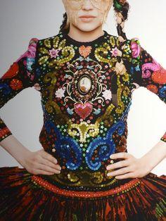 By Austrian fashion designer Susanne Bisovsky.