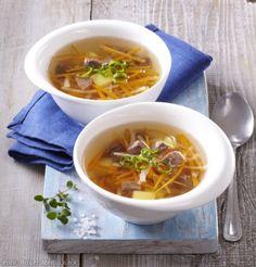 Francouzská hovězí polévka