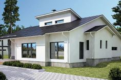 AITO KIVITALO Facade, Beautiful Homes, Architecture Design, Home And Garden, Exterior, Mansions, House Styles, Outdoor, Apartments