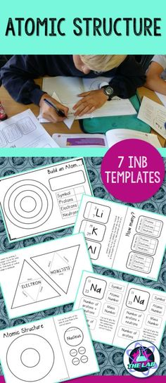 7 Interactive Notebook Activities to make your lessons on Atomic Structure fun and engaging!
