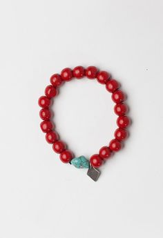 Profound Aesthetic Red Wood Bracelet  $18 at http://profoundco.com/collections/wristwear