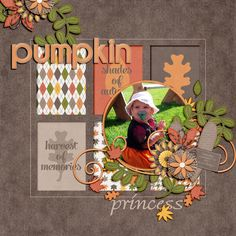 fall scrapbook ideas | fall-themed journal & filler cards