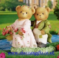 Cherished Teddies Lizzie & Darcy New & Boxed  #4009575