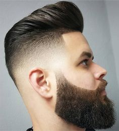 Fabulous Modern Hairstyles for Men with Beard