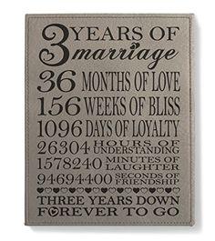 60 Best 3rd Wedding Anniversary Gift Ideas Images 3rd Wedding