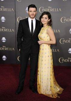 Richard also walked the red carpet with his girlfriend, actress Jenna Coleman.