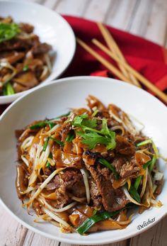 Dry Beef Hor Fun Beef Chow Fun