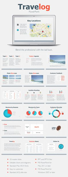 Travelog PowerPoint Template (PowerPoint Templates)