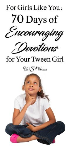 Are you raising a tween girl? And want an encouraging resource for her as she grows through these challenging younger years? Here's a recommended resource! via @Club31Women
