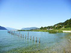 @Aix-les-Bains, les bords du lac du Bourget