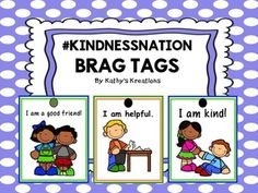 Here are some #kindnessnation brag tags to add to your growing collection. Just print, laminate, cut and hole punch. Hang tags on backpacks, chains or hooks on a bulletin board display for desired behavior or as awards/special days. Add The Room -Snow MonstersValentine Measure The RoomFREE Brag Tags -Back To School