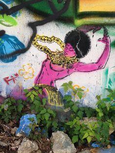 Hawaiian Dancer Stencil- June 2014