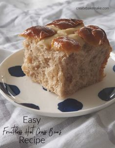 This Fruitless Hot Cross Bun Recipe is simple to make and perfect for the whole family. Both regular and Thermomix instructions included. Cross Buns Recipe, Bun Recipe, Bread Improver, Australian Food, Aussie Food, Hot Cross Buns, Lunch Box Recipes, Easter Recipes, Yummy Snacks