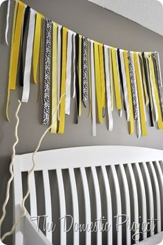 must make for alainas gray and yellow room!!
