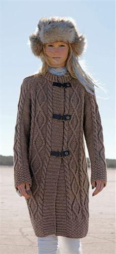 Bergere de France Coat Pattern