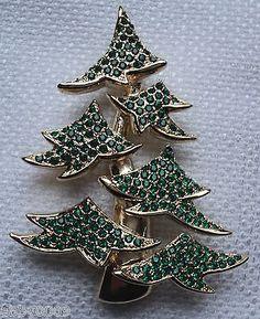 LEA STEIN CHRISTMAS TREE BROOCH | Christmas Tree Pins | Pinterest ...