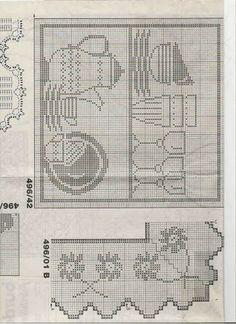 Tischset Häkeln - Crochet