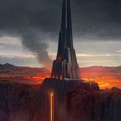 Darth Vader Castle, Castle Tattoo, Star Wars Design, Sith Lord, Star Wars Jedi, Anakin Skywalker, Lorde, Special Forces, Fantasy Art